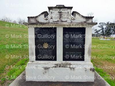 St James Catholic Church Cemetery, St James, La 012817 063 Armant Dupain Normand Lessenne LeCompte LeCourt Cantrelle Andry Allorge St Denis