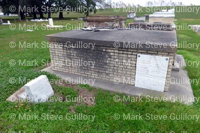 St James Catholic Church Cemetery, St James, La 012817 028 Arceneaux Gaudin Poirrier