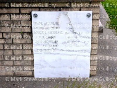 St James Catholic Church Cemetery, St James, La 012817 029 Arceneaux Gaudin Poirrier