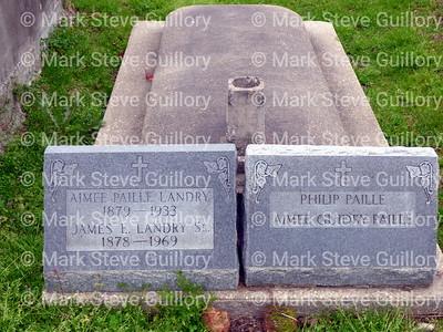 St James Catholic Church Cemetery, St James, La 012817 033 Landry Paille
