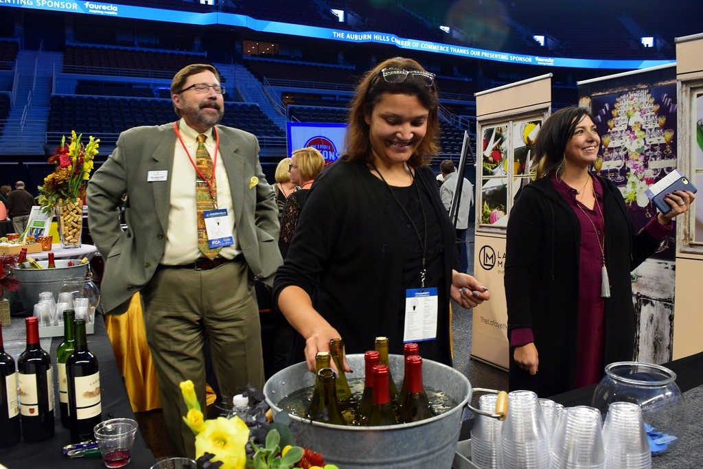 . Scenes from the Taste of Auburn Hills, the very last event to be held at The Palace of Auburn Hills before it closes, on Thursday, Oct. 12, 2017.