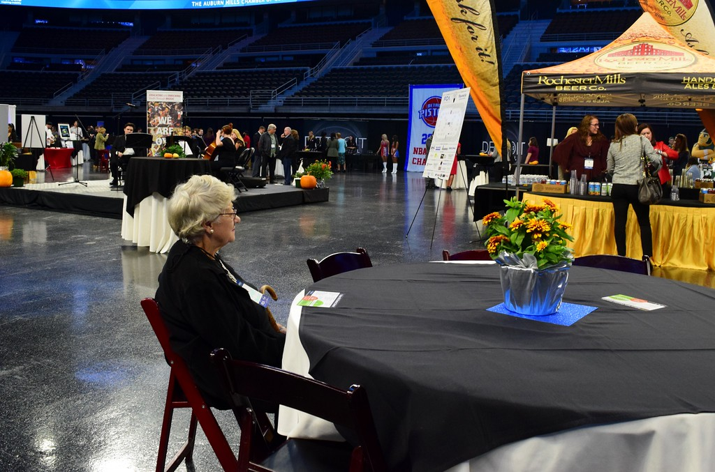 . Scenes from the Taste of Auburn Hills, the very last event to be held at The Palace of Auburn Hills before it closes, on Thursday, Oct. 12, 2017