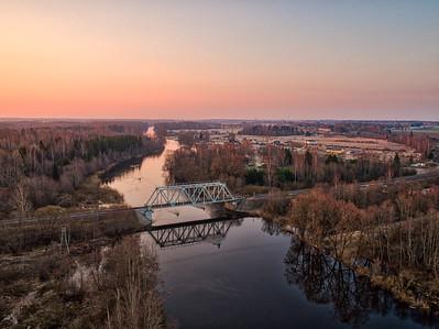 Jänese sild Tartumaal / Brideg Jänese in Tartu county