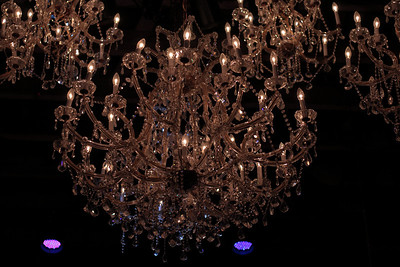 Oct. 30, 2009: A lovely chandelier.