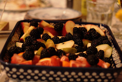 Dec. 15, 2009: We also had a lovely selection of fruit!