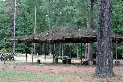 Oct. 1, 2009: Confederate Battery 9, captured by Hinks Division.  A lovely picnic area for the troops. ;)