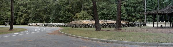 Oct. 1, 2009: Confederate Battery 9, Panorama.