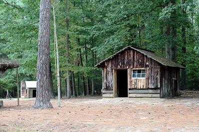 Oct. 1, 2009: Confederate Battery 9, a hut.