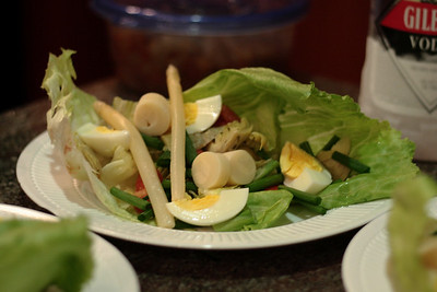 Nov. 2, 2009: Isn't it a pretty salad?