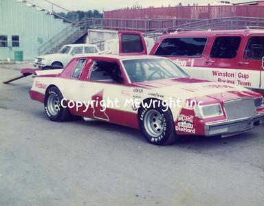 NASCAR show car '82