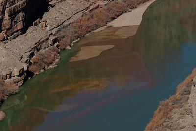 Green River sandbar