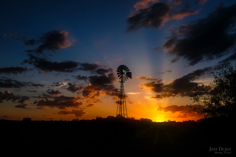 Windmill Sunset June 2018