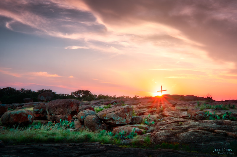 Granite Cross Sunset