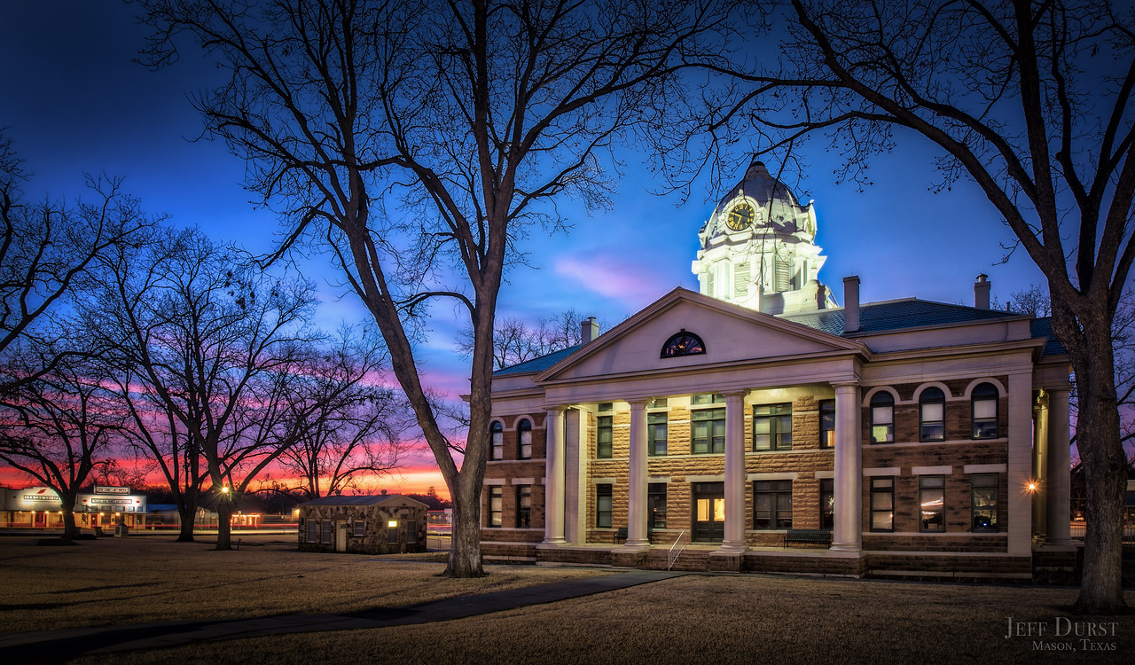 Courthouse at Sunrise