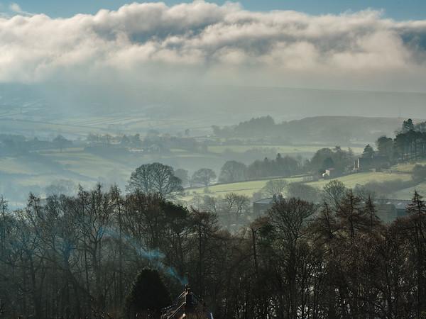 Fryupdale Winter as seen from Danby Moor