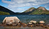 Jordan Pond and the Bubbles<br /> Acadia NP