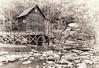 Glade Creek Grist Mill, WV 03 bw