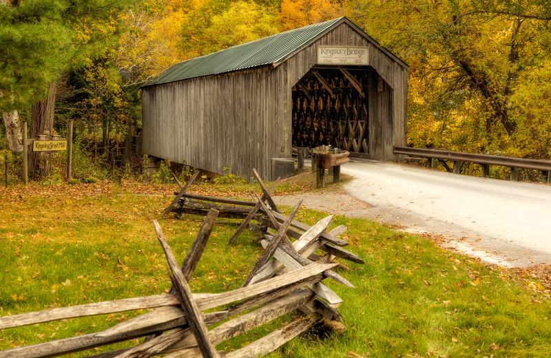 VT Kinsgsley Covered Bridge 01
