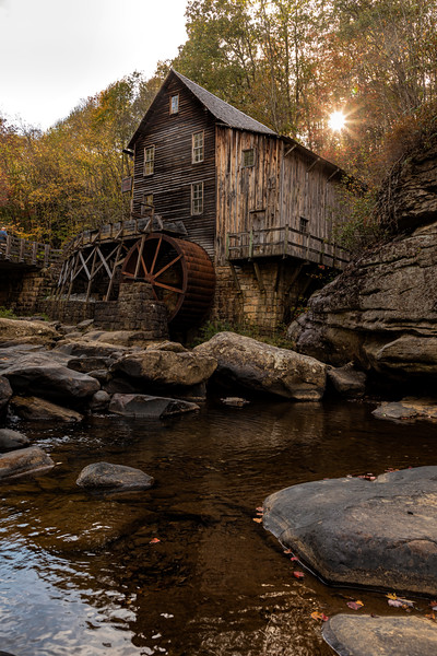 Glade Creek Grist Mill, WV 01