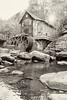 Glade Creek Grist Mill, WV 01 bw