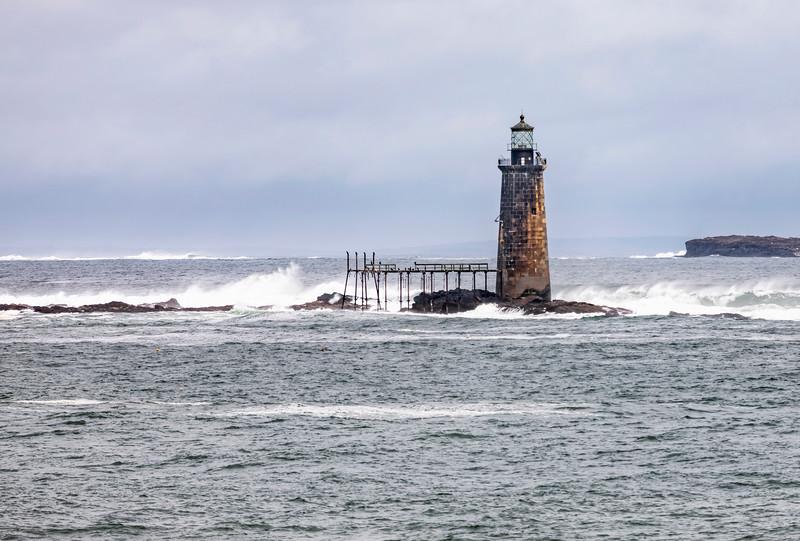 Ram Island Ledge Lighthouse, ME