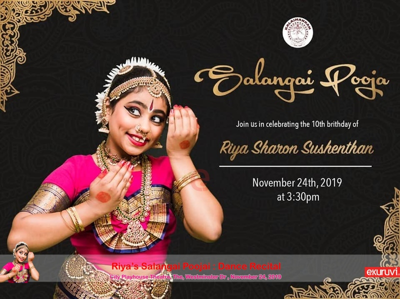 Riya's Salangai Pooja