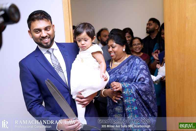 Grand Opening of Ramachandran Law