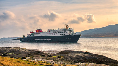 Coming to Lochmaddy