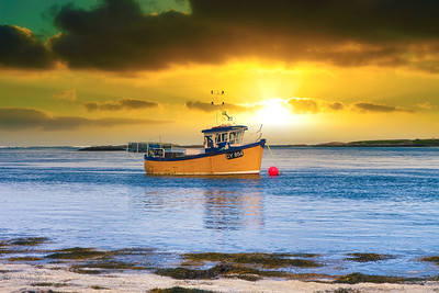 The little fishing boat