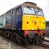 57011 is seen at Carlisle Kingmoor on 18th July 2015.