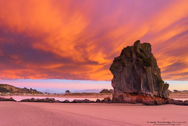 Shag Rock at sunrise