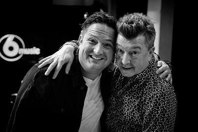 Stuart Maconie and Chris Hawkins