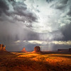 Thunderstorm in Monument Valley