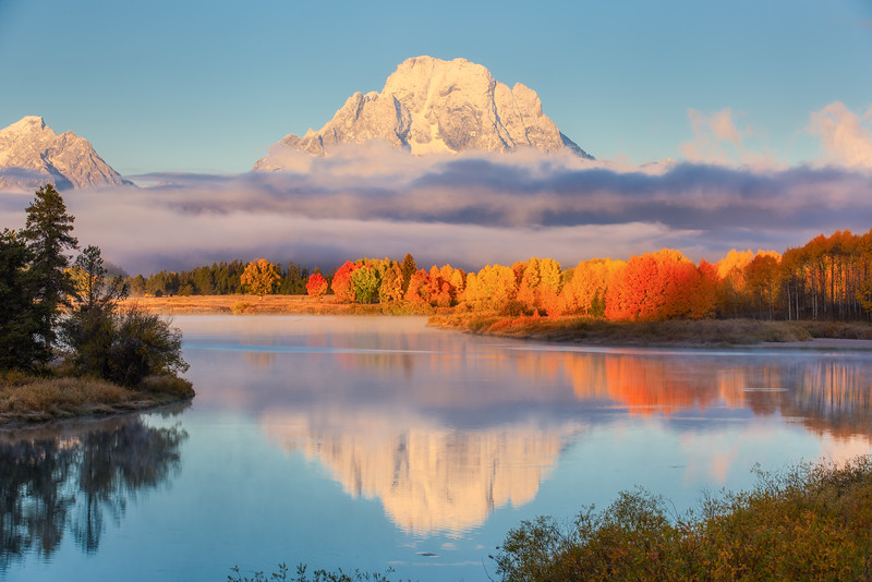Sunrise - Oxbow Bend