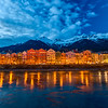 Colorful houses of Innsbruck, Austria