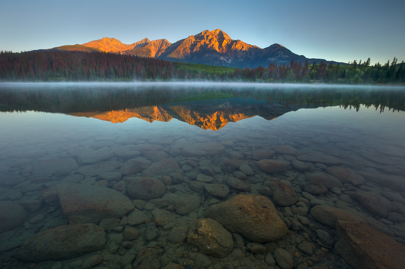 Patricia Lake, Jasper National Park.