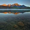 Patricia Lake, Jasper National Park.