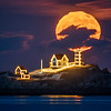 Nubble Light - Cold Moon