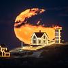 Nubble Light - Cold Moon