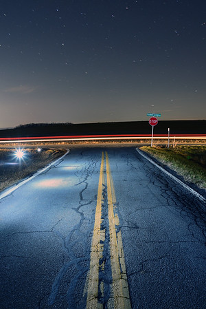 Night Photography---Shoemakersville, PA