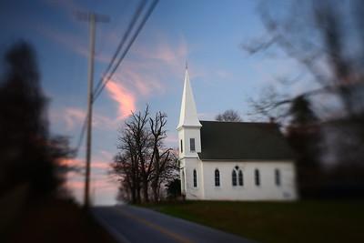 Country Church---Elverson, PA