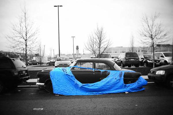 Covered Car---Philadelphia, PA