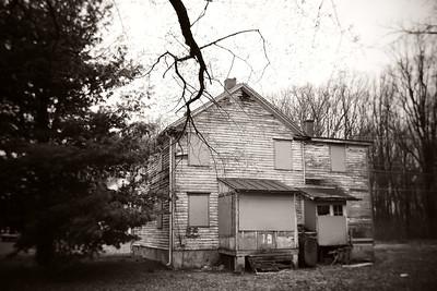 Abandoned Home---Yardley, PA