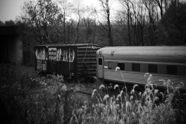 Train Cars---Hamburg, PA