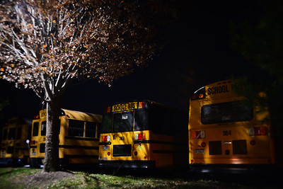 Buses at Rest, Hatfield, PA