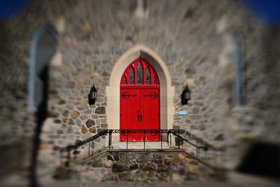 Church Doors---Lansdowne, PA