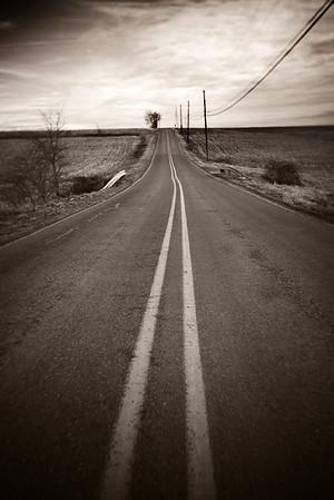 Lonesome Road---Near Bangor, PA