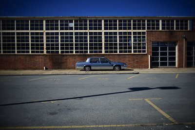 Abandoned Cadillac---Reading, PA