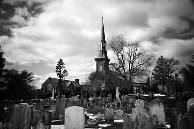 Church & Cemetery---Abington, PA