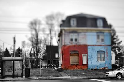 Weathered House---Sharon Hill, PA